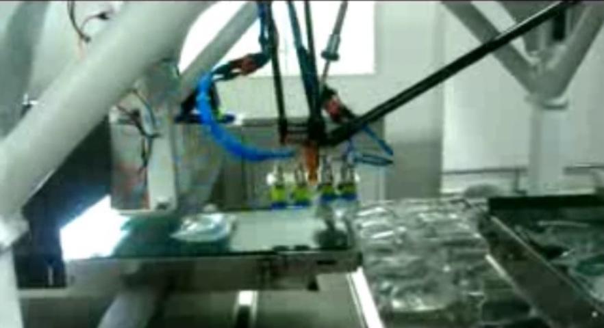 视觉与机器人医疗输液袋分拣