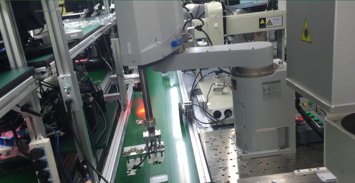 视觉与机器人全自动生产线