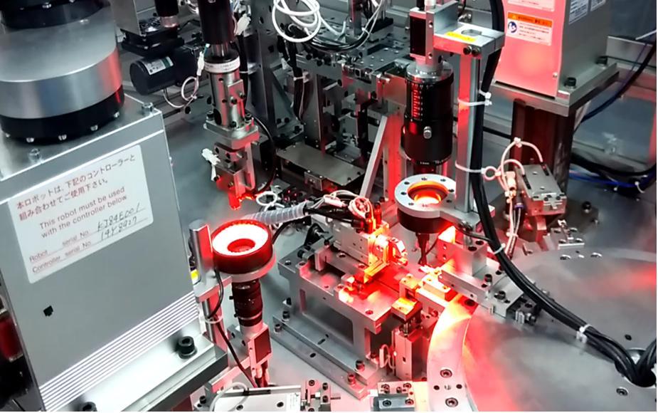 视觉与机器人涂胶检测系统